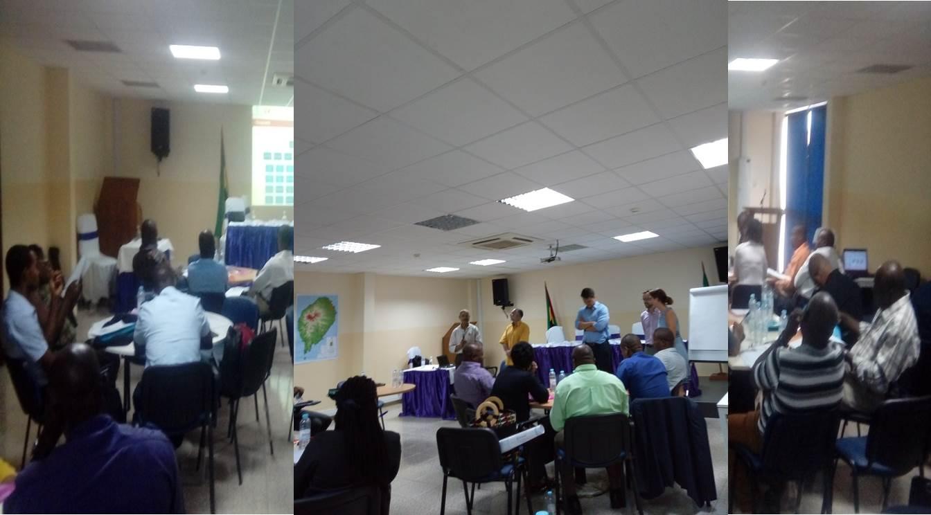 Sessão de formação sobre a implementação da NDC